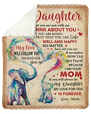 """Everyday I Think About U Mom To Daughter Sherpa Fleece Blanket - 50"""" x 60"""" thumbnail"""
