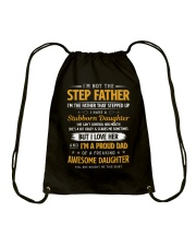I'm The Father That Stepped Up Drawstring Bag thumbnail
