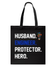 Husband Engineer Protector Hero Tote Bag thumbnail