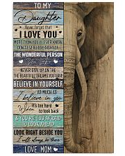 Daughter Elephant Never Forget That I Love You 11x17 Poster front