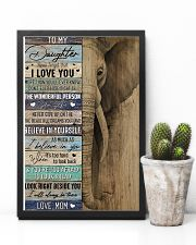Daughter Elephant Never Forget That I Love You 11x17 Poster lifestyle-poster-8