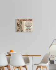 I Want U To Believe In Your Heart Dad To Daughter 14x11 Gallery Wrapped Canvas Prints aos-canvas-pgw-14x11-lifestyle-front-05