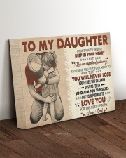 I Want U To Believe In Your Heart Dad To Daughter 14x11 Gallery Wrapped Canvas Prints aos-canvas-pgw-14x11-lifestyle-front-17
