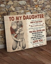 I Want U To Believe In Your Heart Dad To Daughter 14x11 Gallery Wrapped Canvas Prints aos-canvas-pgw-14x11-lifestyle-front-21