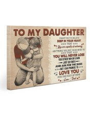 I Want U To Believe In Your Heart Dad To Daughter Gallery Wrapped Canvas Prints tile