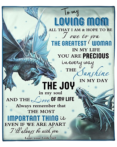 To My Loving Mom I'll Always Be With You