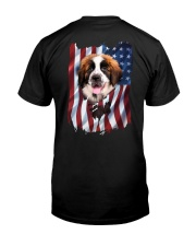 Saint bernard Flag Classic T-Shirt back