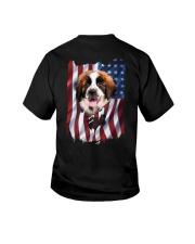 Saint bernard Flag Youth T-Shirt thumbnail