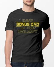 Best bonus Dad in the galaxy Classic T-Shirt lifestyle-mens-crewneck-front-13