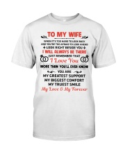 To My Wife My Love My Forever Premium Fit Mens Tee thumbnail