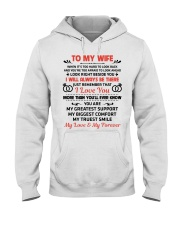 To My Wife My Love My Forever Hooded Sweatshirt thumbnail