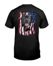 Cane corso  Flag Classic T-Shirt back