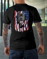 Cane corso  Flag Classic T-Shirt lifestyle-mens-crewneck-back-3