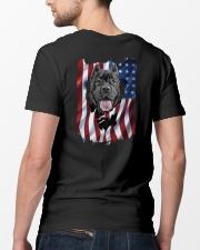 Cane corso  Flag Classic T-Shirt lifestyle-mens-crewneck-back-5