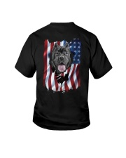Cane corso  Flag Youth T-Shirt tile