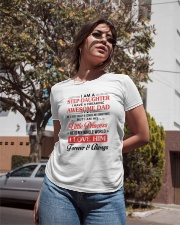 I Am A Stepdaughter Have A Freaking Awesome Dad Ladies T-Shirt apparel-ladies-t-shirt-lifestyle-02