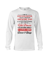 I Am A Stepdaughter Have A Freaking Awesome Dad Long Sleeve Tee thumbnail