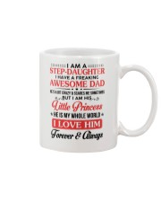 I Am A Stepdaughter Have A Freaking Awesome Dad Mug thumbnail