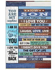 Never Forget That I Love U Mom To Son Vertical Poster tile