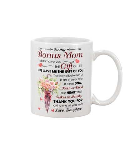 To My Bonus Mom Thanks For Loving Me As Your Own