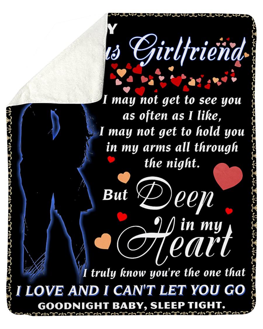 """To My Girlfriend Sherpa Fleece Blanket - 50"""" x 60"""""""
