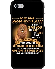 To My Dear Son-In-Law From Mother-in-law Phone Case thumbnail