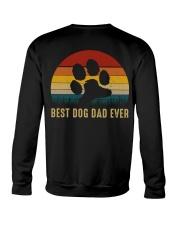 Best Dog Dad Ever Crewneck Sweatshirt thumbnail