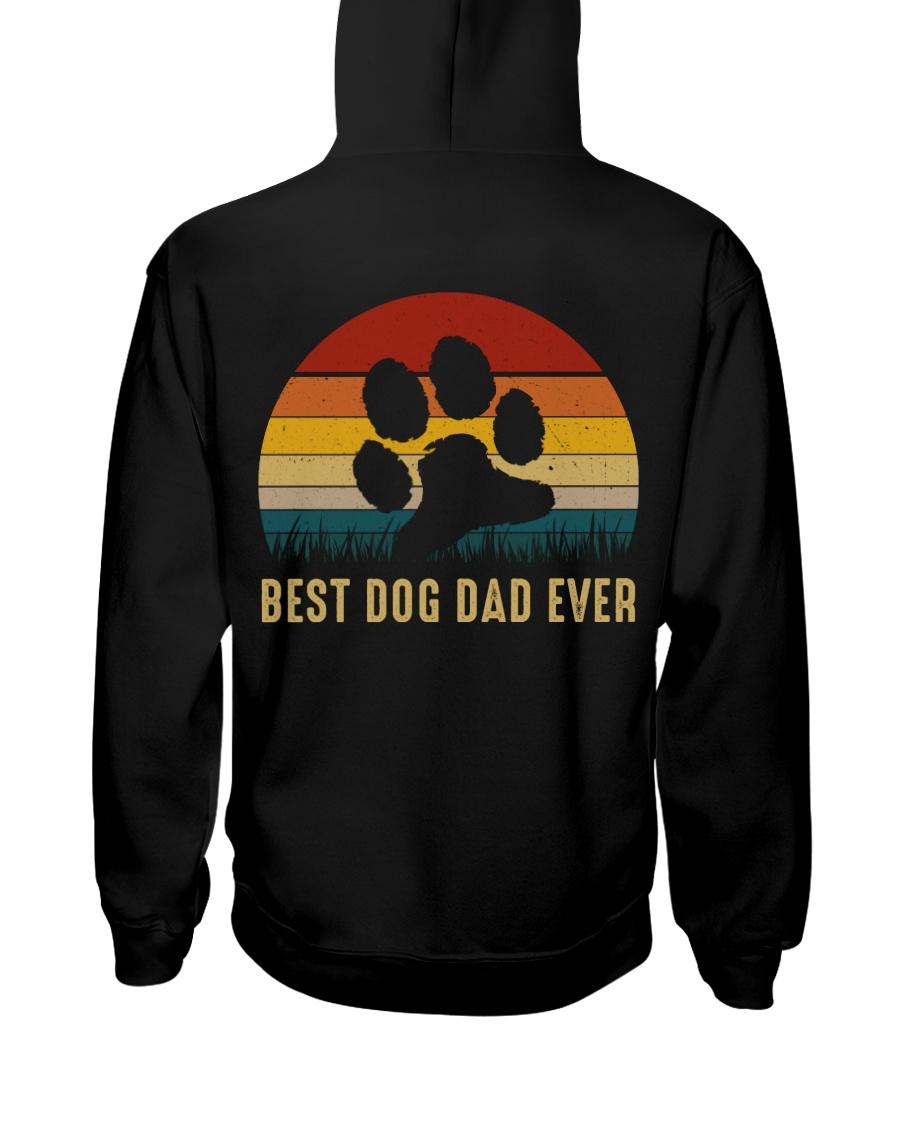 Best Dog Dad Ever Hooded Sweatshirt