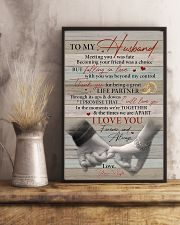 Husband Thanks For Being A Great Life Partner 11x17 Poster lifestyle-poster-3