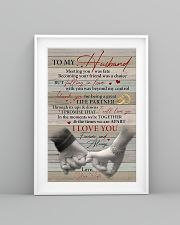 Husband Thanks For Being A Great Life Partner 11x17 Poster lifestyle-poster-5
