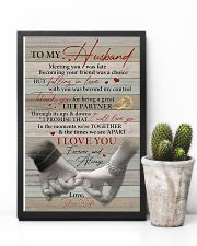 Husband Thanks For Being A Great Life Partner 11x17 Poster lifestyle-poster-8