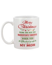 Merry Christmas From The Kid To Step-Dad Mug back
