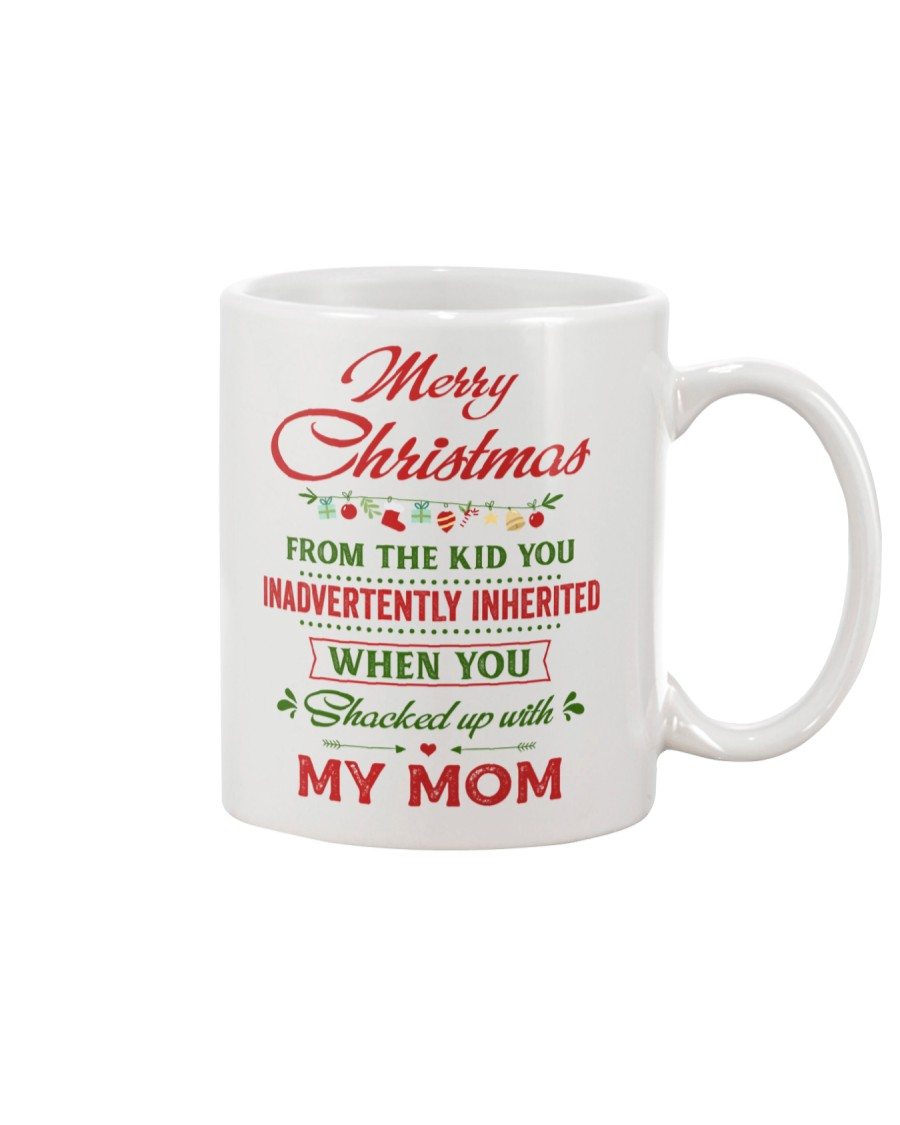 Merry Christmas From The Kid To Step-Dad Mug