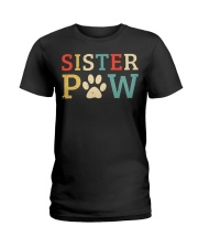 Sister Paw Ladies T-Shirt front