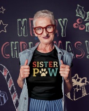 Sister Paw Ladies T-Shirt lifestyle-holiday-crewneck-front-3
