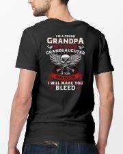 I'm A Proud Grandpa Of A Pretty Granddaughter Classic T-Shirt lifestyle-mens-crewneck-back-5