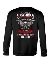 I'm A Proud Grandpa Of A Pretty Granddaughter Crewneck Sweatshirt thumbnail