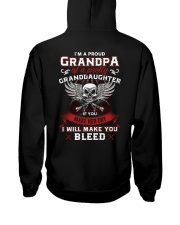 I'm A Proud Grandpa Of A Pretty Granddaughter Hooded Sweatshirt thumbnail