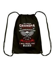 I'm A Proud Grandpa Of A Pretty Granddaughter Drawstring Bag thumbnail