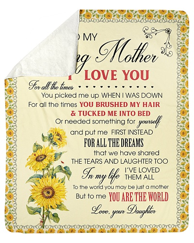 To My Loving Mother I Love You