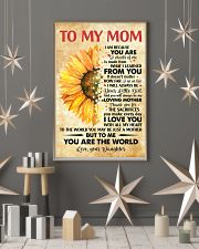 To Mom Thanks 4The Sacrifices You Make Every Day 11x17 Poster lifestyle-holiday-poster-1