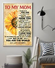 To Mom Thanks 4The Sacrifices You Make Every Day 11x17 Poster lifestyle-poster-1