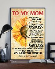 To Mom Thanks 4The Sacrifices You Make Every Day 11x17 Poster lifestyle-poster-2