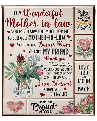 To Mother-In-Law Blessed To Have You In My Life