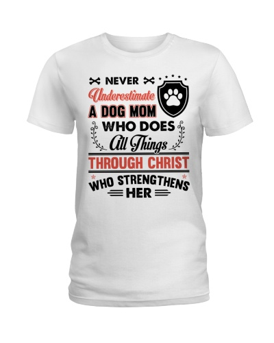 Never underestimate A Dog Mom