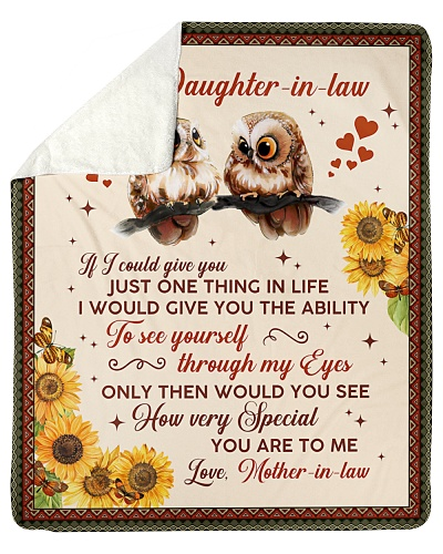 To My Dear Daughter-In-Law How Special U Are To Me