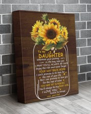 You Are My Sunshine Dad To Daughter 11x14 Gallery Wrapped Canvas Prints aos-canvas-pgw-11x14-lifestyle-front-12