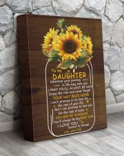 You Are My Sunshine Dad To Daughter 11x14 Gallery Wrapped Canvas Prints aos-canvas-pgw-11x14-lifestyle-front-13