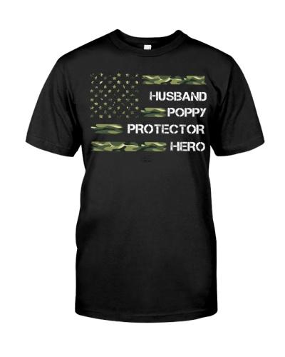 Husband Poppy Protector Hero