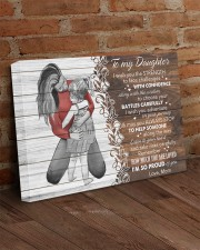 I Wish The Strenght To Face Challenges To Daughter 24x16 Gallery Wrapped Canvas Prints aos-canvas-pgw-24x16-lifestyle-front-03